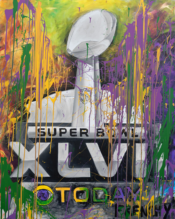 CBS Commercial: Superdome XLVII Lombardi by Frenchy