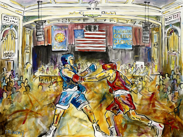 New England Golden Gloves by Frenchy