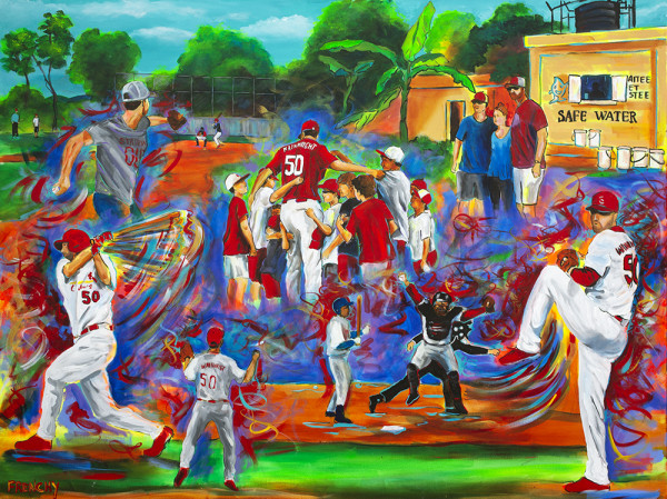 Adam Wainwright Collage by Frenchy