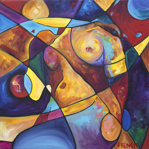 Abstract Nude by Frenchy