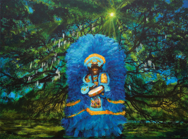 Big Chief Bo Dollis  by Frenchy