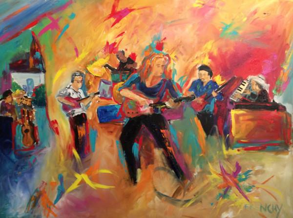 Bonnie Raitt by Frenchy
