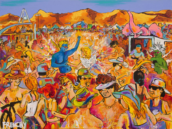 Burning Man by Frenchy