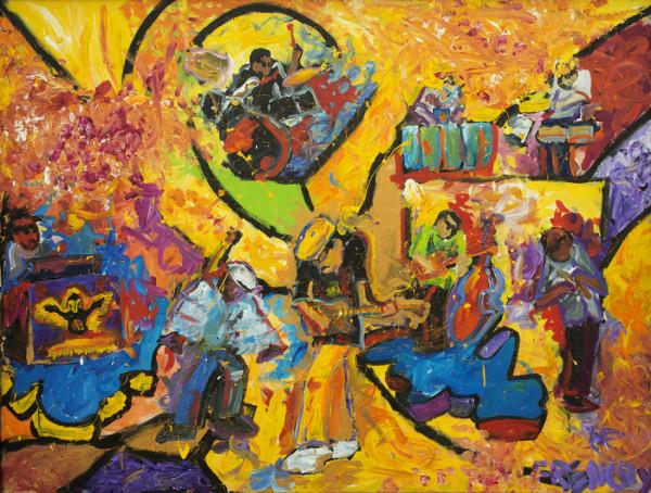 Carlos Santana  by Frenchy