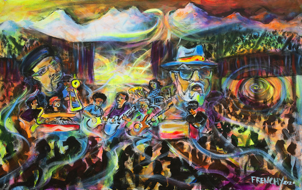 Poppa Funk & The Night Tripper - A Tribute to Art Neville & Dr. John by Frenchy