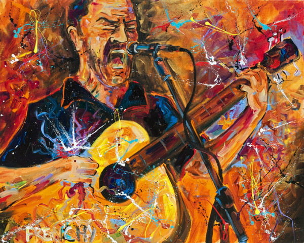 Dave Matthews by Frenchy