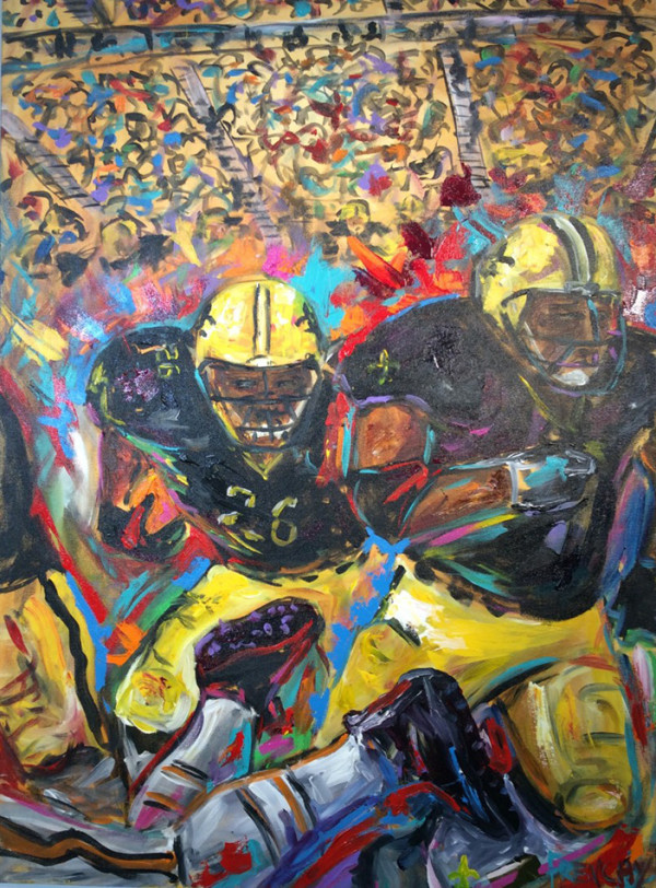 Deuce Mcallister by Frenchy