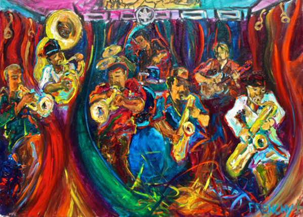 Dirty Dozen Brass Band by Frenchy
