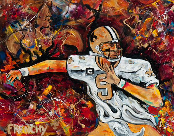 Drew Brees MNF by Frenchy