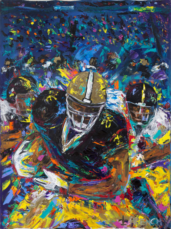 Steelers vs. Saints by Frenchy
