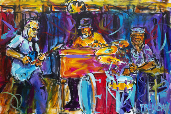 Eric Struthers, Ike Stubblefield & Rolan Guerin by Frenchy