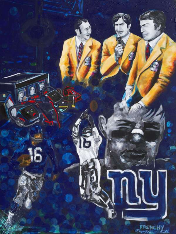 Frank Gifford  by Frenchy