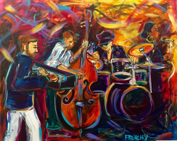 The Billie Davies Trio by Frenchy