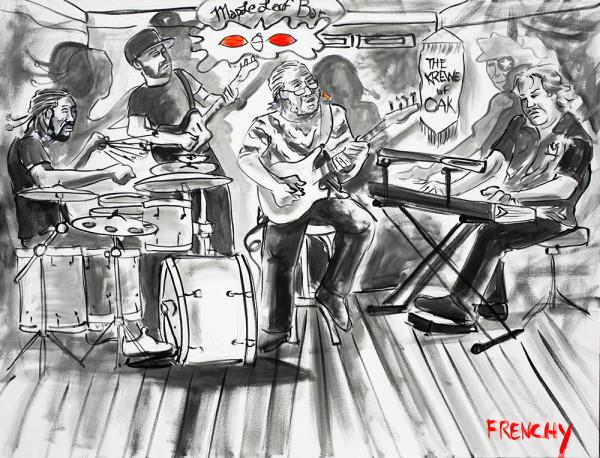 George Porter Jr. Trio by Frenchy