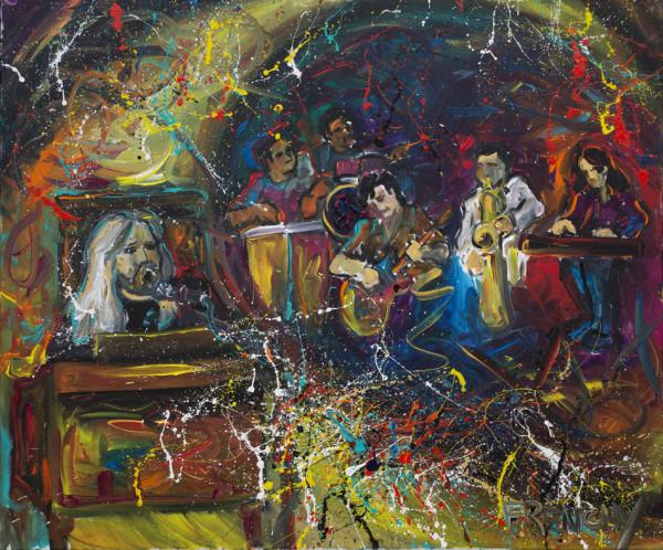 Greg Allman by Frenchy