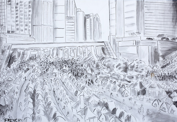Hong Kong Protests by Frenchy