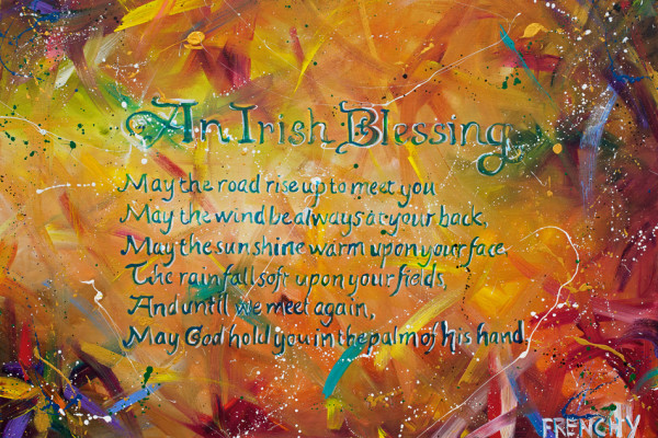 Irish Blessing by Frenchy