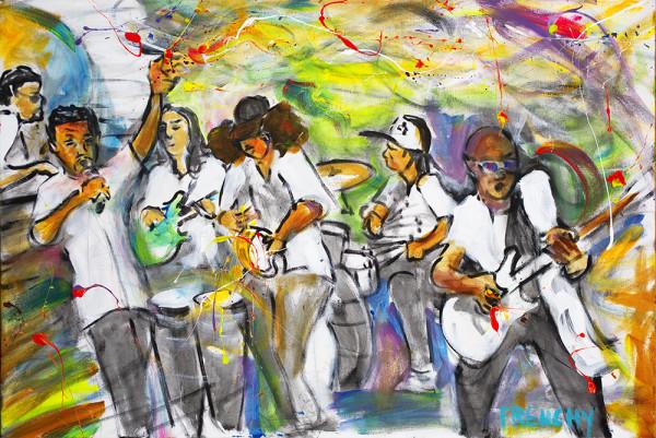 The Jason Neville Funky Soul Band by Frenchy
