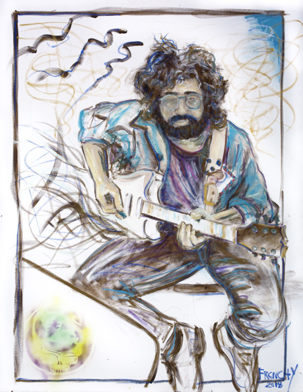 Jerry Garcia by Frenchy