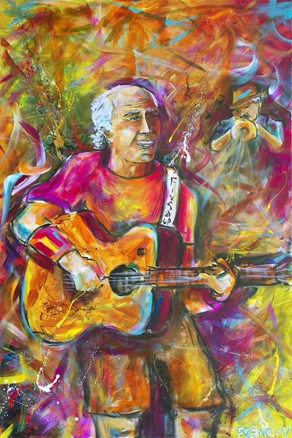 Jimmy Buffett by Frenchy