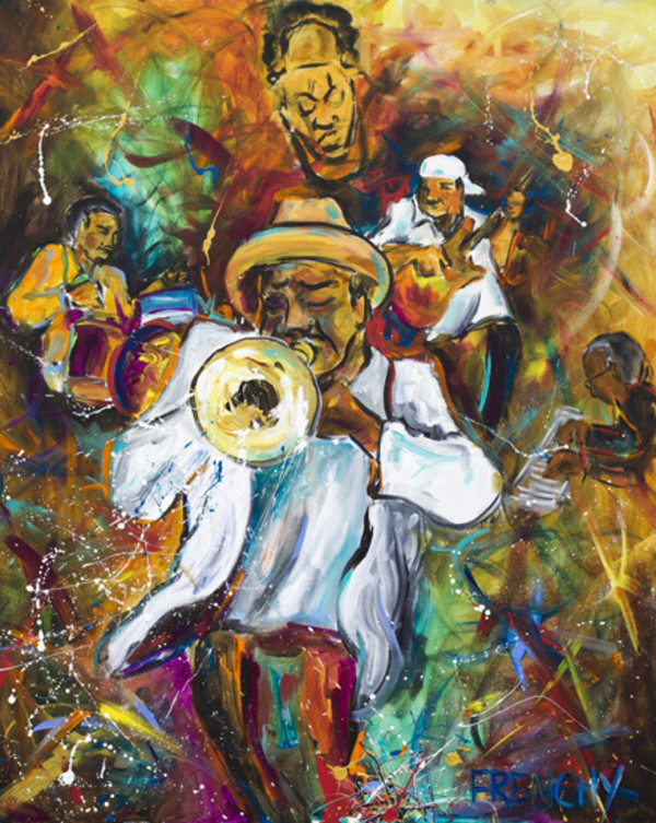 Kermit Ruffins by Frenchy