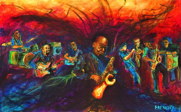Fiya Fest SuperJame w/ Maceo Parker by Frenchy