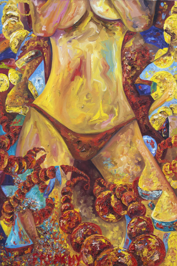 Mardi Gras Women by Frenchy