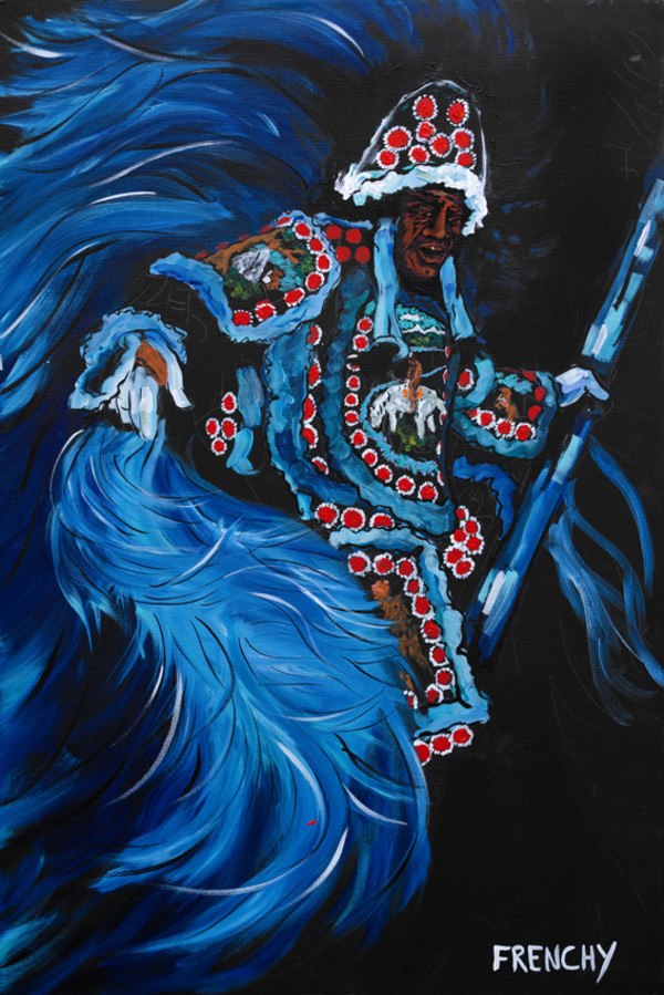 Mardi Gras Indian Chief by Frenchy