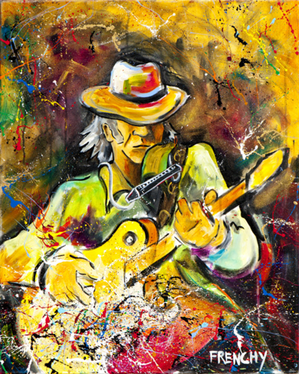 Neil Young by Frenchy