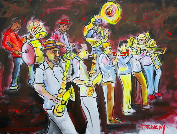 The New Orleans Nightcrawlers by Frenchy
