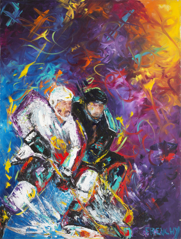 New Orleans Brass Hockey by Frenchy