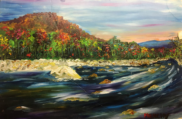 Pemigawasset River by Frenchy