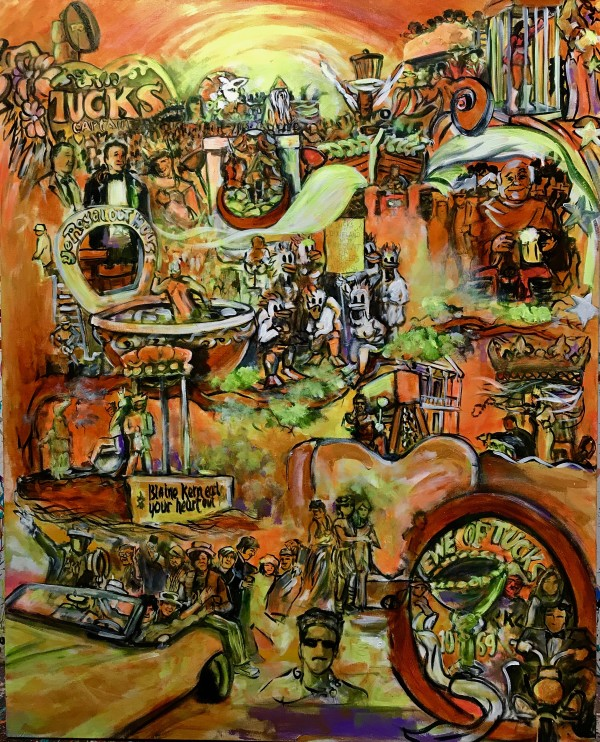 Krewe of Tucks 50th Anniversary  by Frenchy