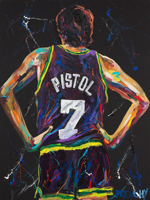 "Pete ""Pistol"" Maravich by Frenchy"