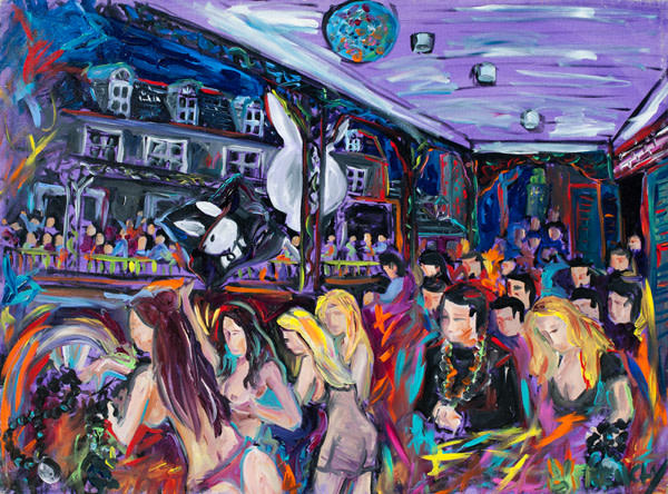 Playboy - Mardi Gras Party on Bourbon by Frenchy