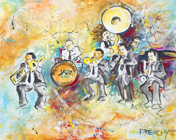 Preservation Hall Jazz Band by Frenchy