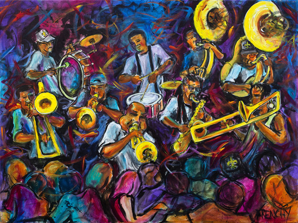 Rebirth Brass Band by Frenchy
