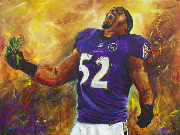 Ray Lewis by Frenchy