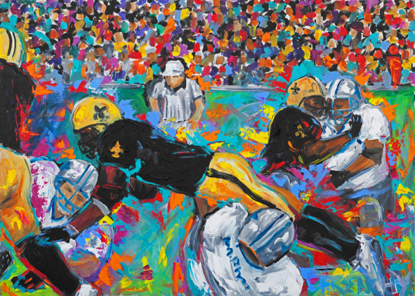 Lions vs. Saints by Frenchy