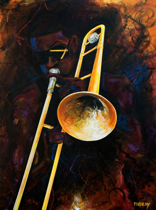 Trombone Player by Frenchy
