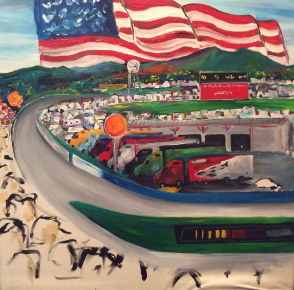 NASCAR Taladega Raceway by Frenchy