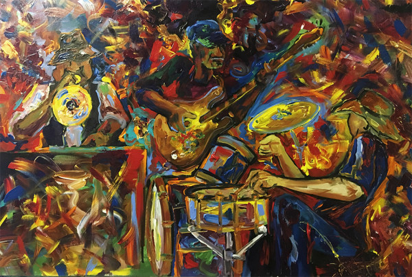 The Trio w/ Nicholas Peyton, Tony Hall Johnny V by Frenchy