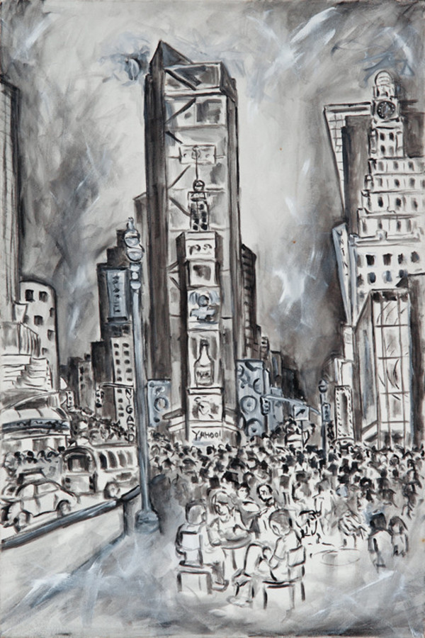 Times Square  by Frenchy