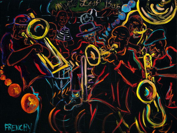 Treme Brass Band by Frenchy