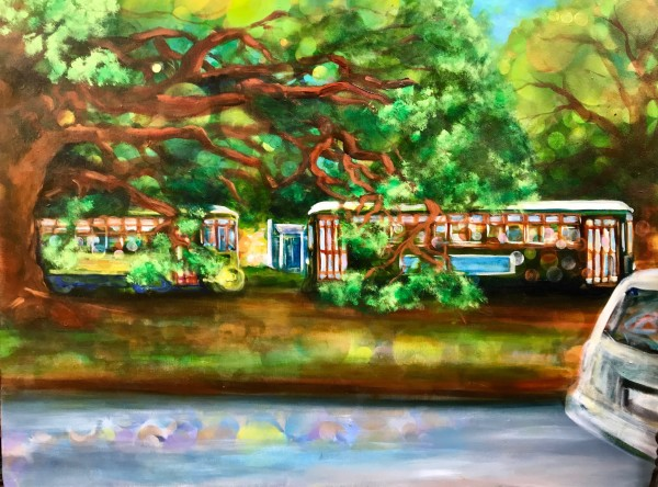 Carrollton Trolley by Frenchy