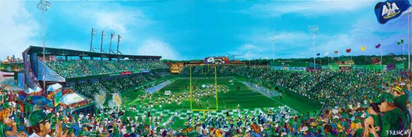 Tulane Yulman Stadium by Frenchy