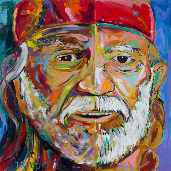 Willie Nelson by Frenchy