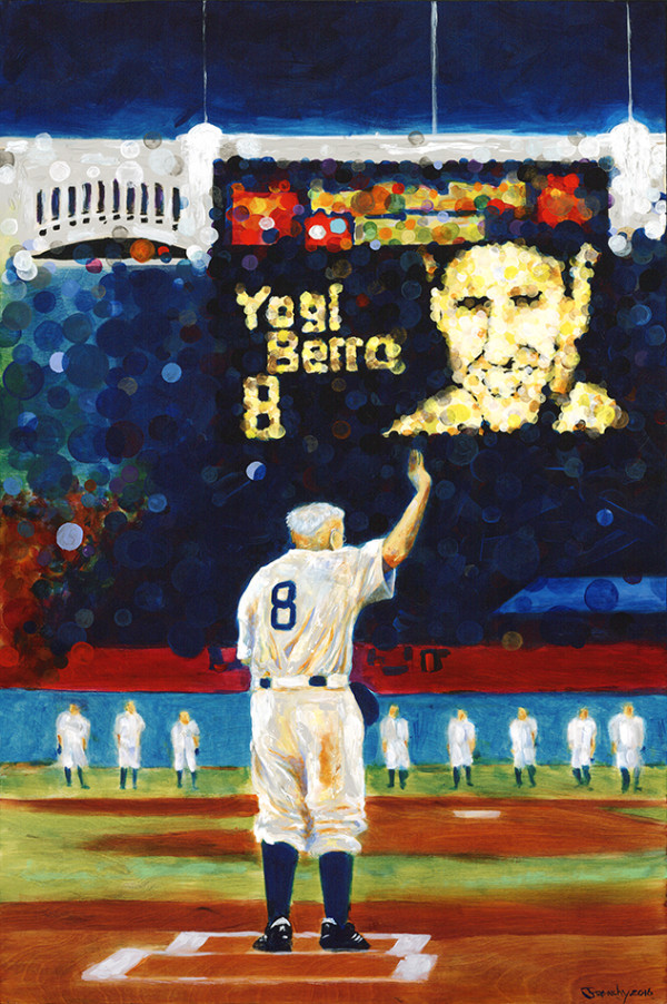 Yogi Berra by Frenchy