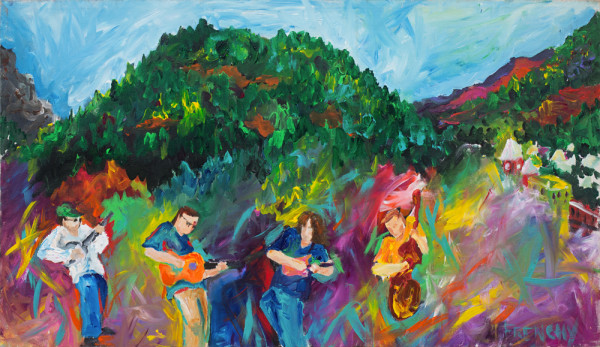 Yonder Mountain String Band by Frenchy