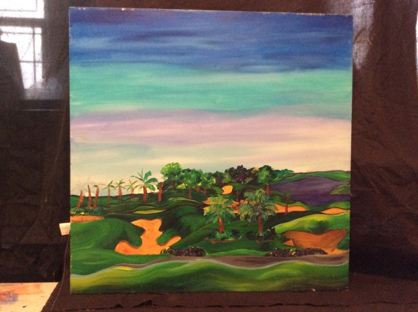 Landscape Golf Course  by Frenchy